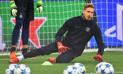 kevin trapp psg football entrainement gardien